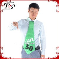 green 50 year old birthday party tie