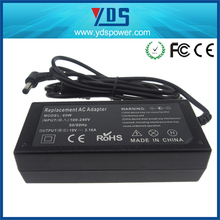 YDS laptop ac power adapter and charger input 100-240v 50/60 hz adaptor 19v 3.16a 60w laptop charger