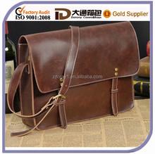 Hot Sale Mens Leather Messenger Bag Shoulder Briefcase Casual Laptop Business Messenger Bag