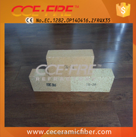 Thin fire bricks with CIQ inspection