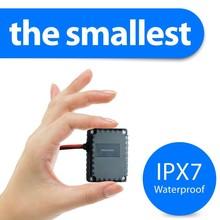 smallest waterproof mini gps tracker plus wireless gprs sim card for vehicle car motorcycle e-bike T0024