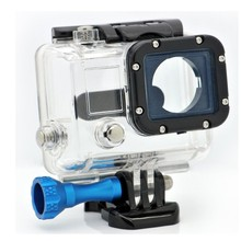 Smatree Replacement Underwater Waterproof Protective Skeleton Housing Case for Go pro He ro3 Outside Sport Camera