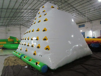 2014 water inflatable iceberg/funny water toys/water climbing games