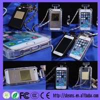 Hot Sell China Alibaba Custom SiliconWaterproof Perfume Bottle Phone Case For Iphone 5 5s