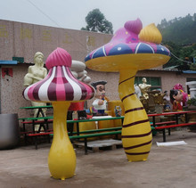 customed cartoon handicraft, fiberglass garden sculpture