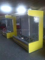 open air curtain showcase/open case chiller