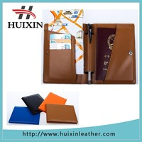 Best selling multifunctional leather passport holder / leather passport case factory