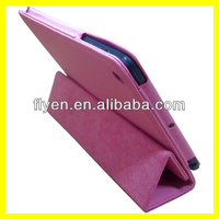 Ultra Slim Trifold Case for iPad mini Tri-fold Smart Cover Magnetic PU Leather Cases Covers for Apple iPad mini pink