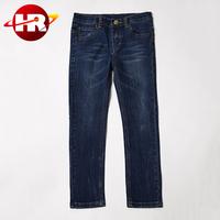 Hot Seller Jeans Garment Straight Little Girl Children Pant