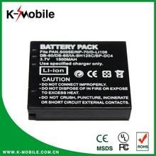 High capacity camera Camcorder battery DMW-BCC12/CGA-S005E/ DB60 / NP70 for Panasonic