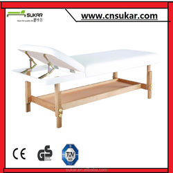 Adjustable Massage Bed With Best Materials and PVC Leather