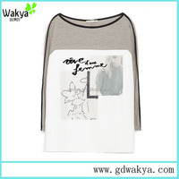 OEM Especially slevee Yours Clothing T shirts Of Ladies Tee Shirts Custom