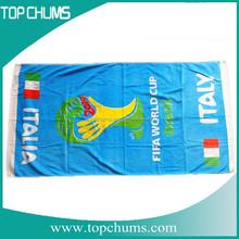 Car race Custom logo printed promotional towels printed