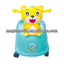 high quality tiger removable baby used toilet injection mould