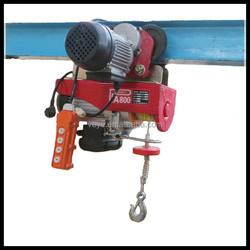 PA800 Mini 220V Electric Hoist with Trolley