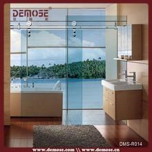2015 fancy stylish frame sliding glass balcony screens