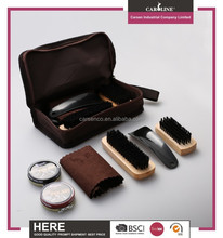 Travel personalized set for shoe care