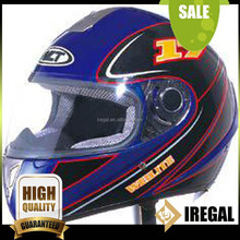 Full face Racing Motorcycle Helmets with Decals