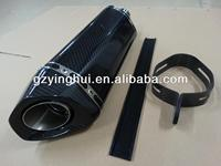 carbon fibre universal motorcycle muffler