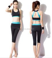 Summer New Design Woman Gym Workout Suit Custom Sports wear Yoga Sports wear
