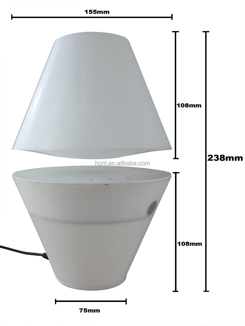 자기 부상 에너지 절약 주도 책상 램프 호텔-테이블 램프 및 ...