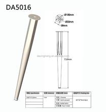 Adjustable Black Plastic Iron Table Legs