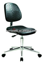 Modern High Quality Stacking Laboratory Furniture Swivel Adjustable Plastic Stool for Lab