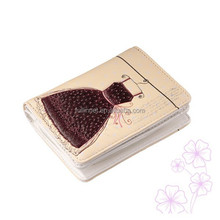 New Arrival Brand Lady Wallet/Colorful and Fashion multifunction PU Leather Beige Evening Dress Printed Women Wallet