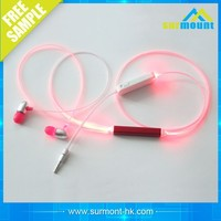 Competitive price Led glowing Earphones