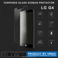 Low price China mobile phone 9h explosion proof tempered glass screen protector for LG G4