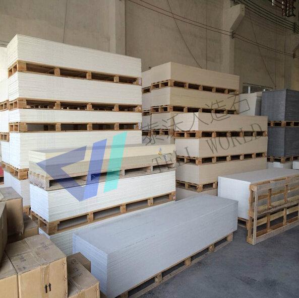 De haute qualité surface solide dalle/décoratifs. feuille acrylique/slabtaille pour compteur