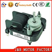 carbon brush high quality refrigerator shaded pole fan motor with high quality