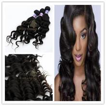 tangle free no shed remy hair no animal no lice no synthetic virgin Eurasian body wave