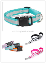 Functional pet dog collar / reflective dog collar / pet dog products factory