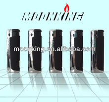plastic lighters , windproof lighter led rubber surface