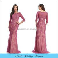 Fashion Elegant Plus Size vestidos de madrina Evening Gowns Sexy Appliqued Mother of the Bride Lace Evening Dresses Gowns 2015