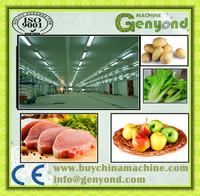 chicken beef negative freezer chamber