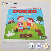 Hot selling educational baby book