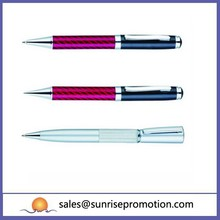Twist Mechanism With Promotional Metal Ballpoint