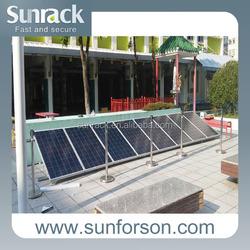 Flat roof adjustable mounting solar panel aluminum mounting