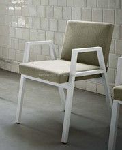 Top Grade -- Comfortable solid Wood Armchair with Soft Mat design chair