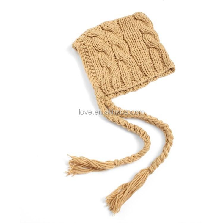Wholesale Newborn Crochet Hat Patterns Baby Knit Pilot Cap