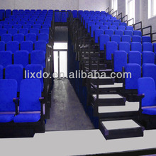 2013 best selling retractable bleacher /tribune seating with soft seats