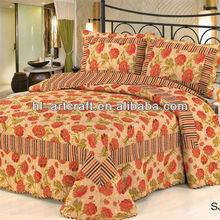Cheap hot sale cotton applique patchwork quilts SJ-006