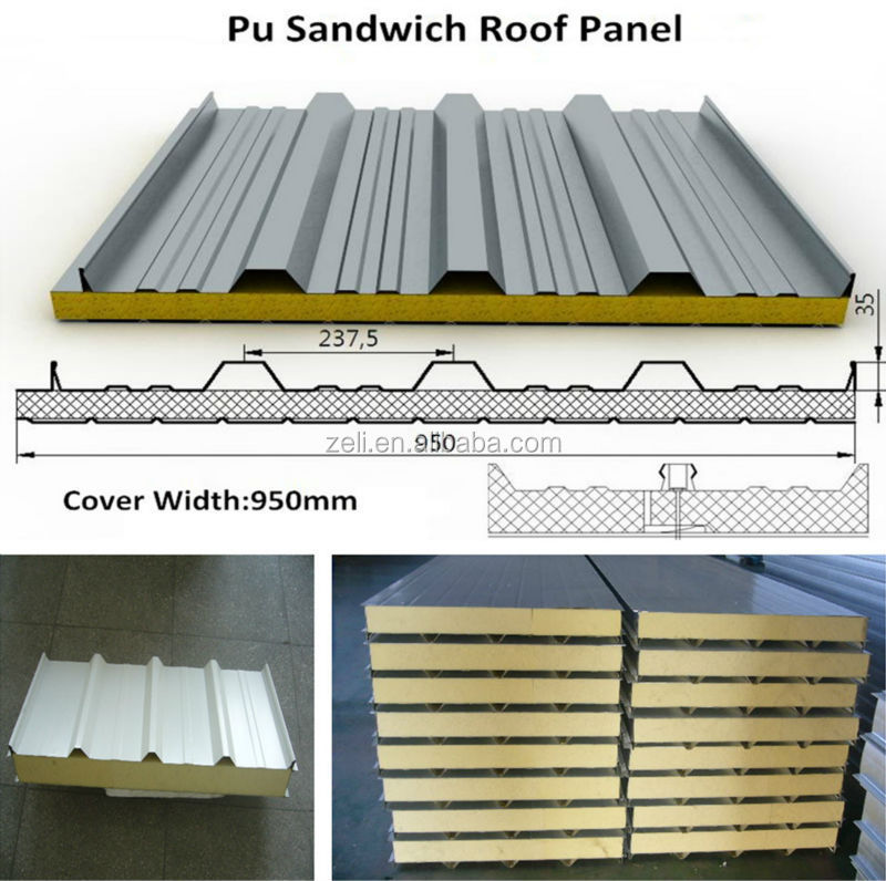 Polyurethane Foam Panels : Rigid polyurethane foam panel pu sandwich