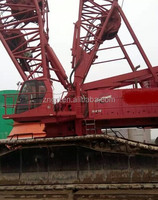 shanghai used condition good Manitowoc 600t crawler crane for sale / kobelco crawler crane with excellent condition