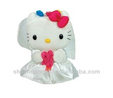 Lovely butterfly festival cat&plush toys stuffed animal hello kitty