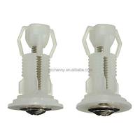 Hot Sale Best Promotion 1 Pair Top Toilet Seat Fixings WC Blind Hole Fitting Screws Nut Easy Installation Closetool