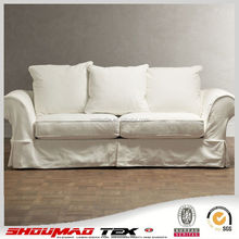 China manufacturer elegant Natural linen sofa cover