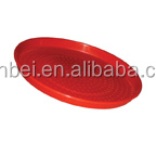 DIA. 350MM ROUND SHAPE PLASTIC CHICKS FEED PAN